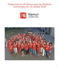 Elections Communales 2018 - Programme complet du PS (Liste n°3)